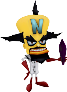 Crash Nitro Kart Neo Cortex