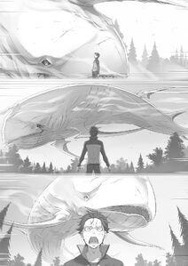 ReZero Volume 7 Subaru as the bait Illustration