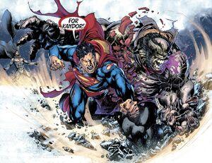 Rogol Zaar vs Superman vs Zod 3