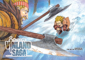 Thorkell vs. Thorfinn Round 2 - Start!! Vinland Saga Color Page