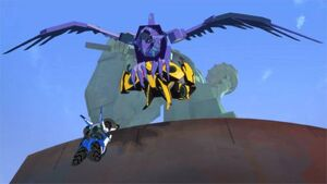 Filch grabbed Bumblebee