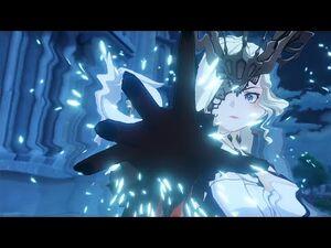 Genshin Impact - La Signora attacks Venti! (Lumine Version)