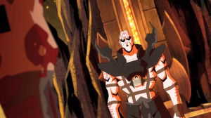 Quan Chi meeting Scorpion in hell