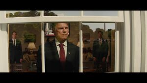 The President (Kingsman The Golden Circle)'s defeat