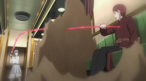 Urashiki attacks Gaara