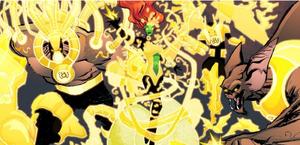 Yellow Lantern Corps Smallville
