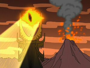 Sauron in Family Guy