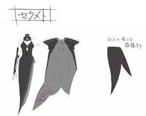 Sekhmet Light Novel Concept Art 2