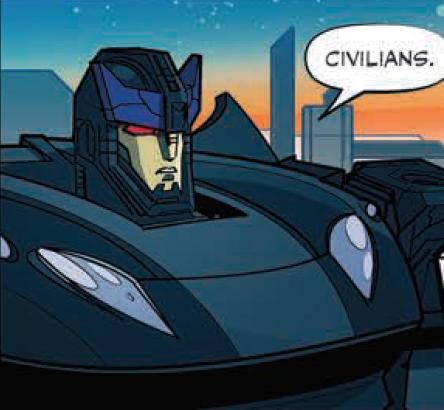 Barricade (IDW Comics)