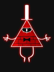 Bill Cipher Angry