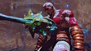 God of War 3 - Kratos Sacrifices Himself (Ending Cutscene)