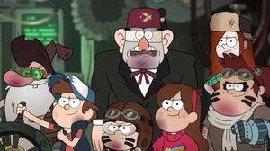 Gravity Falls Take Back The Falls Shacktron vs Bill Cipher 60FPS