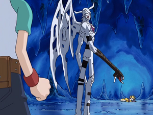 IceDevimon asks the Rika