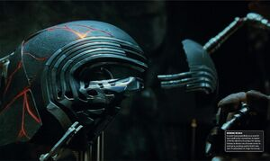 Kylo Ren's mask - Rise of Skywalker Visual Dictionary