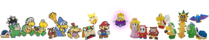 PMOK Characters Lineup Group Artwork