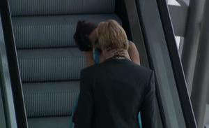 Rubí kisses Héctor