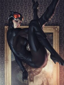 Catwoman Vol 5 9 Textless Variant