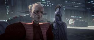 Chancellor Palpatine fake remourse