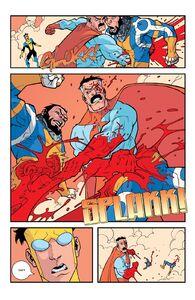 Omni-Man kills the Immortal Again