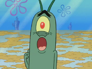 Plankton say Oh no Did somebody call the health inspector