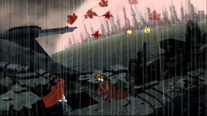 Skywalker rain city