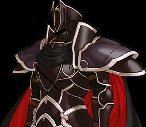 The Black Knight Rd Portrait