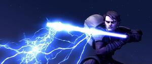 Anakin deflects