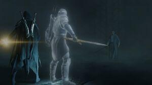 Celebrimbor-Eltariel-vs-Sauron