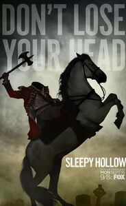 Sleepy Hollow Headless Horseman Poster