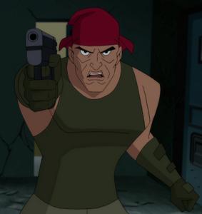 Alex Trent Justice League vs. the Fatal Five