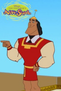 Kronk From The Emperor's New Groove