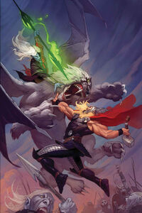 Malekith vs Thor (Marvel)