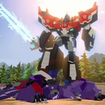 Optimus, Fracture, Airazor & Divebomb (Ep. 25).png