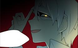 Baekmorae's Evil grin