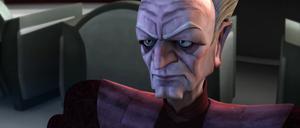Chancellor Palpatine stern