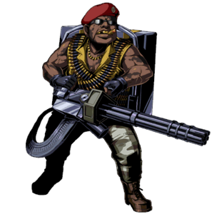 Gatling Gun Majini (Clan Master)