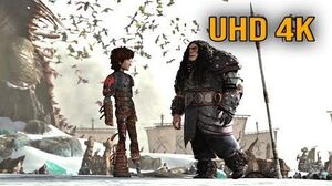 """How to Train Your Dragon 2 - """"Hiccup talks to Drago Drago's Story"""" (4K UHD 2160p)"""