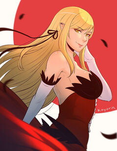 Kiss shot acerola orion heart under blade monogatari drawn by koyorin 7328a544a01bf26091b989fc0a423f31