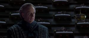 Senator Palpatine presents
