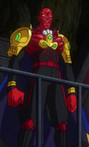 Johann Shmidt (Earth-14042) from Marvel Disk Wars The Avengers Season 1 33