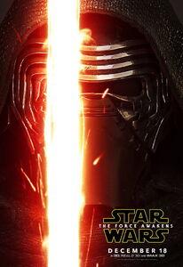 Kylo Ren poster The Force Awakens
