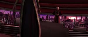 Palpatine Amidala departs
