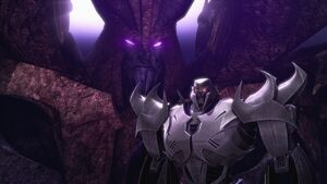 Predacons Rising Megatron and Unicron screenshot