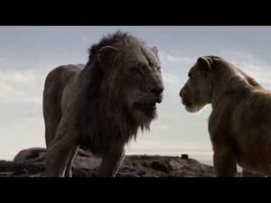 The Lion King (2019) Scar Rules The Pride Rock HD