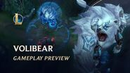 Volibear Gameplay Preview League of Legends