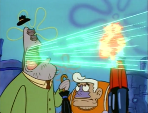 Atomic Flounder Belching on Barnacle Boy