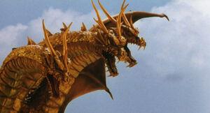 King Ghidorah (Rebirth of Mothra III) 11