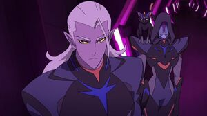 Lotor and Narti in Galra Command Center
