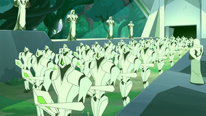 Galactic Horde army in Catra's vision