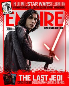 Kylo ren empire dark side cover the last jedi
